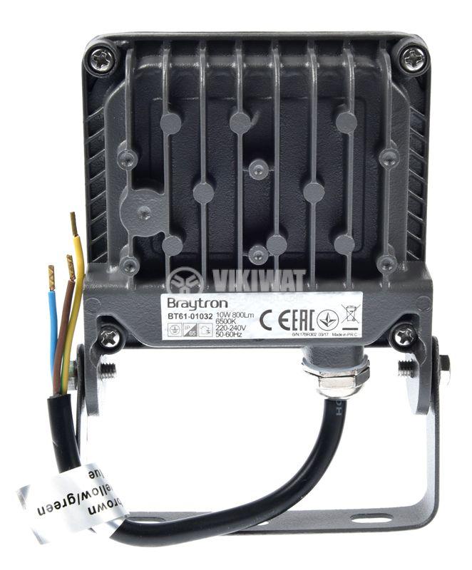 LED прожектор 10W, 220VAC, 800lm - 7