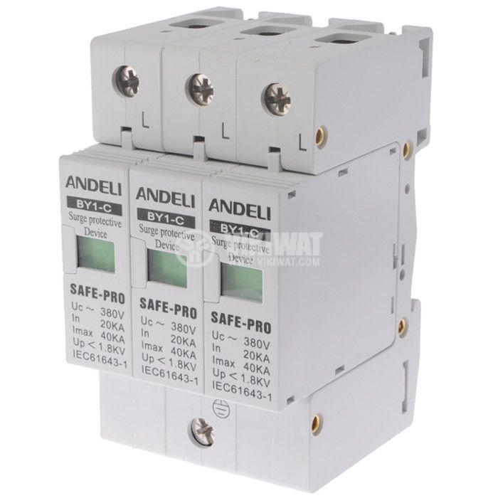 Surge protection BY1-C 380VAC, 40kA - 1