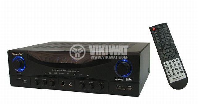 Домашен ресийвър / усилвател THC1102 (USB) 2x100W/8Ohm 2x150W/6Ohm 2x200/4Ohm