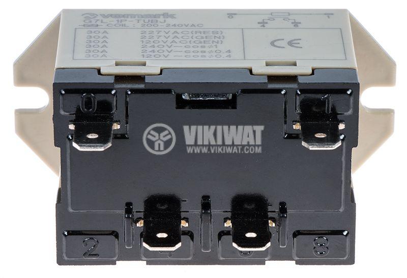 Електромагнитно реле - силово 240VAC 220VAC/25A SPST-NO G7L - 2