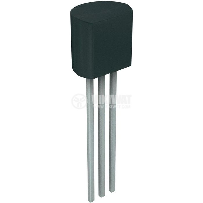 Транзистор BC558, PNP, 30 V, 0.1 A, 0.5 W, 150 MHz, TO92