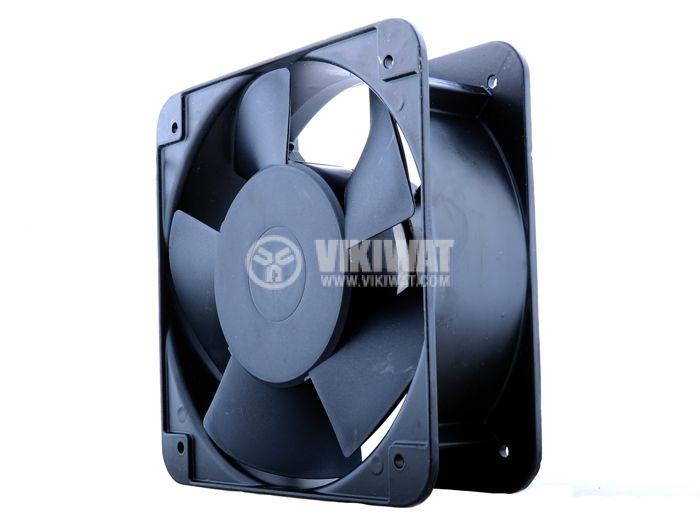 Axial Fan VM15050A2HBL, 150х150х25mm, 220VAC, 0.23A with ball bearing - 1