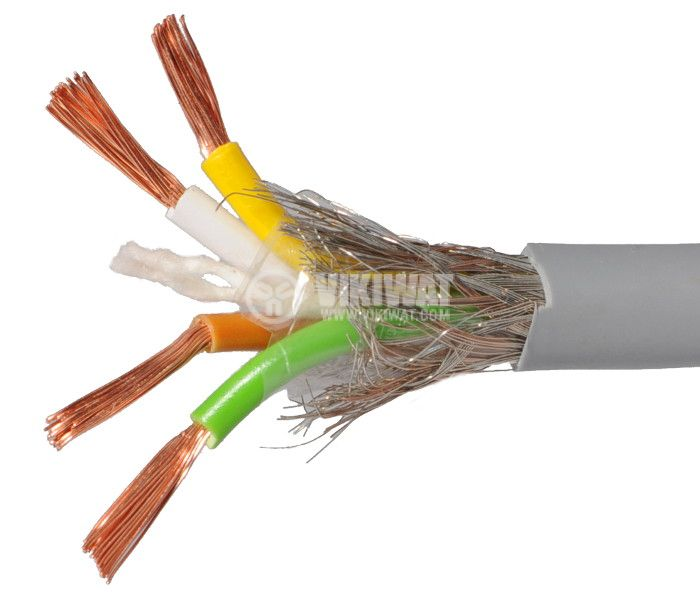 LIYCY shielded cable 4x1m2