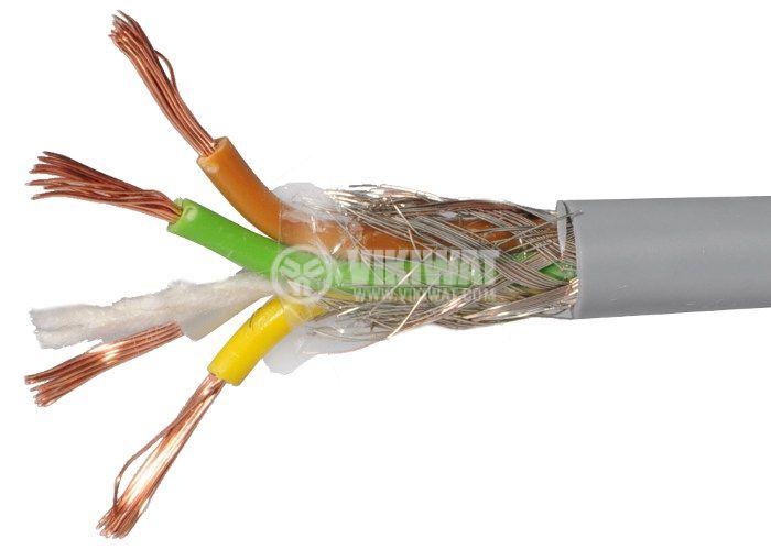 LIYCY екраниран кабел 4x0.5mm2
