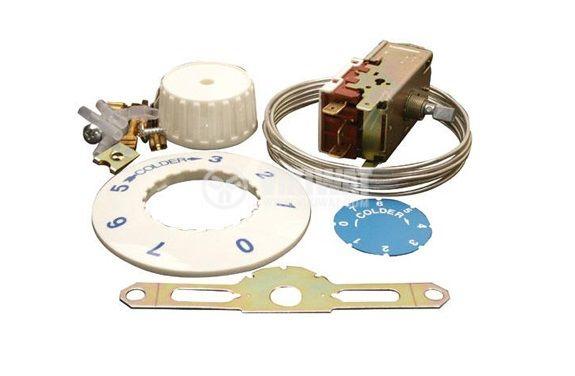Терморегулатор, капилярен, К54 P1102, -32 °C -11 °C, NO+NC, 6A/250VAC - 2