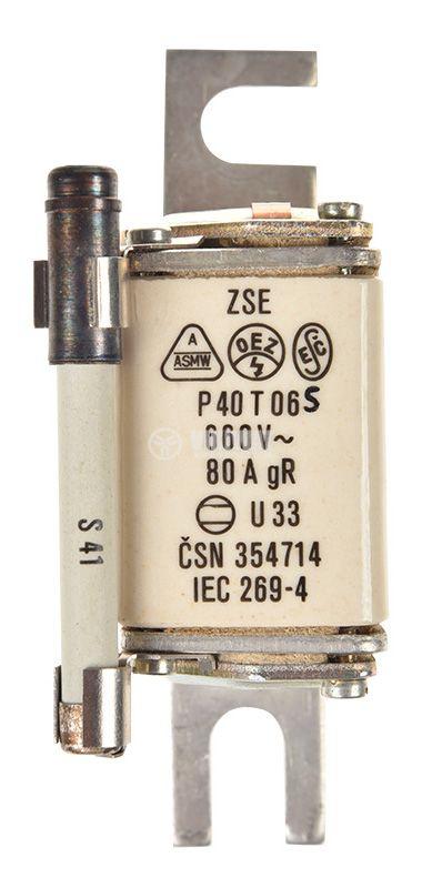 Предпазител, стопяем, P40T06, 80A - 2