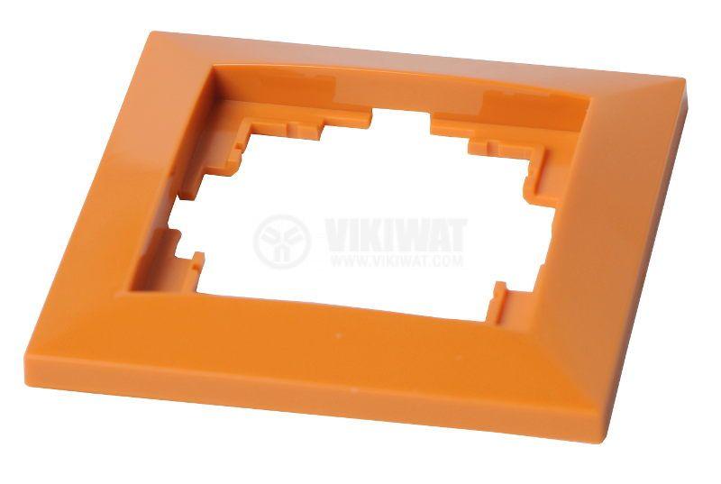 Electrical Switch Frame, LM60001, PVC, orange - 2