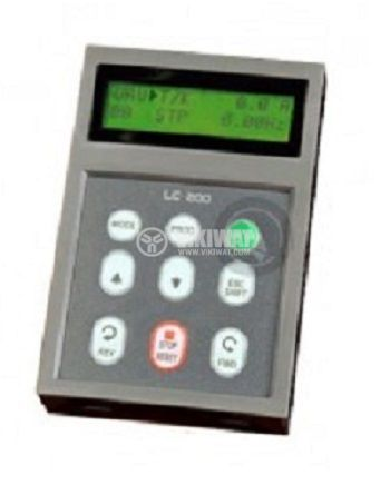 Keypad programming with LCD display for inverter SV150IS5-4