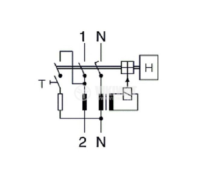Residual Current Circuit Breaker F362 230VAC 63А 300mА - 5