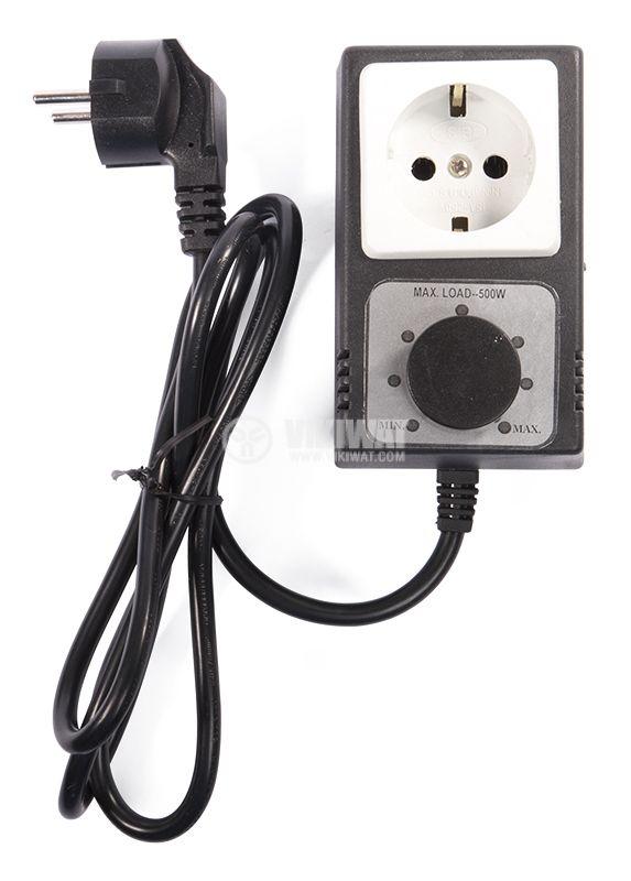 Регулатор на мощност за активен товар до 500W, реактивен до 350W - 1