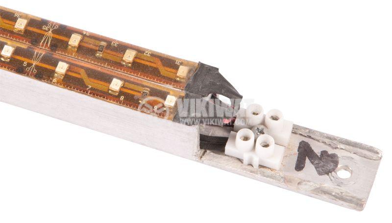 LED модул, 2 ленти х60cm x 36LED, 5.7W, 12VDC, влагозащитен - 1