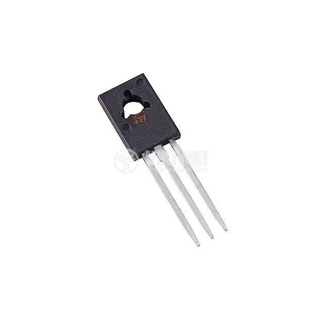 Транзистор BD140, PNP, 80 V, 1.5 A, 12.5 W, 75 MHz, SOT32