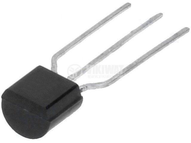 Tранзистор 2N2222A NPN 75V 0.6A 625mW TO92