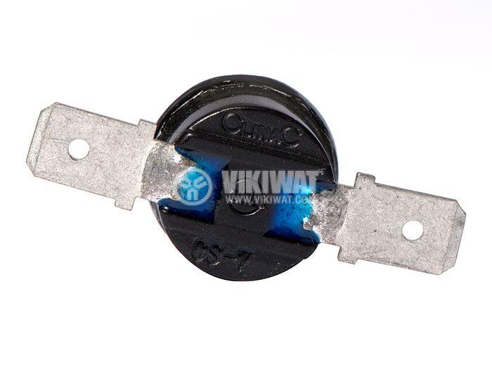 Термостат, биметален, CLINAC, 70°C, NC, 10A/250VAC - 3