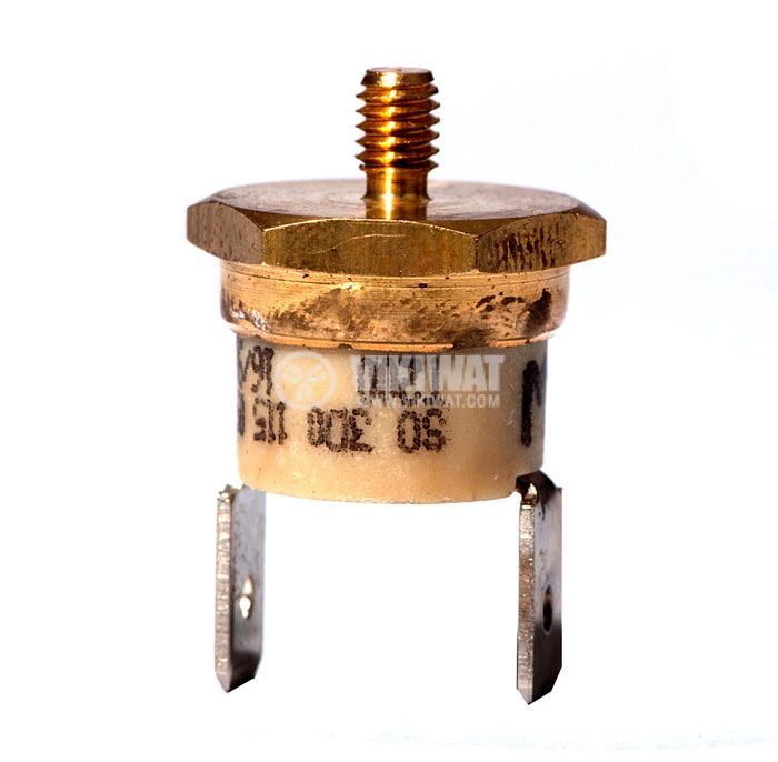 Термостат, биметален, EAW, 115°C, NC, 10A/250VAC - 1