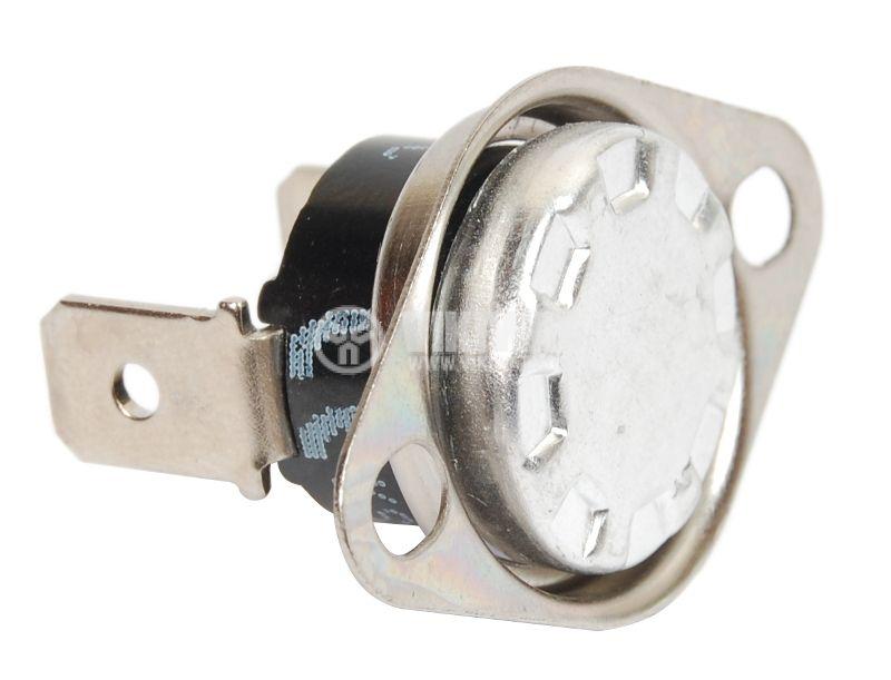 Термостат, биметален, KSD-301A, 90°C, NO, 10A/250VAC - 1