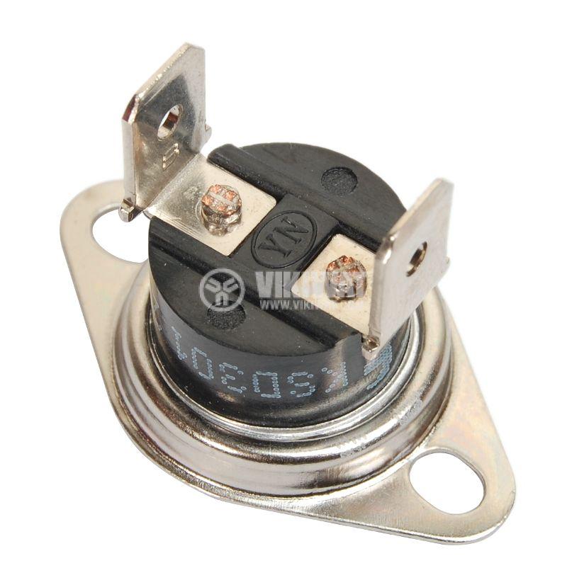 Термостат, биметален, KSD-301A, 90°C, NO, 10A/250VAC - 2