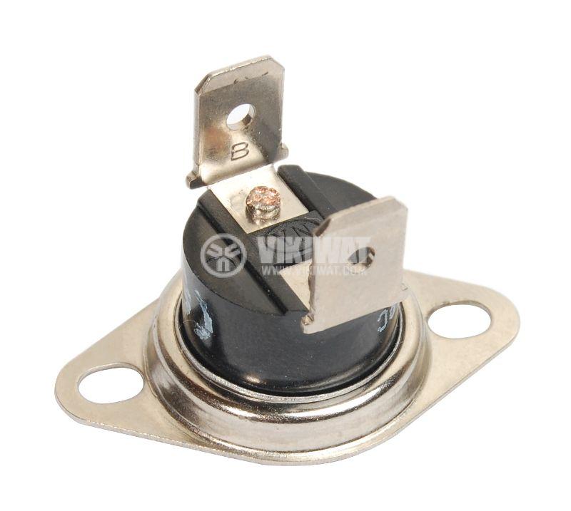 Термостат, биметален, KSD-301A, 95°C, NC, 10A/250VAC - 2