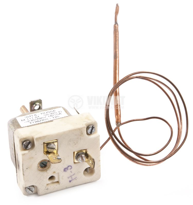 Bimetal Thermostat KSD-301A 190°C NO 10A/250VAC ceramic - 2