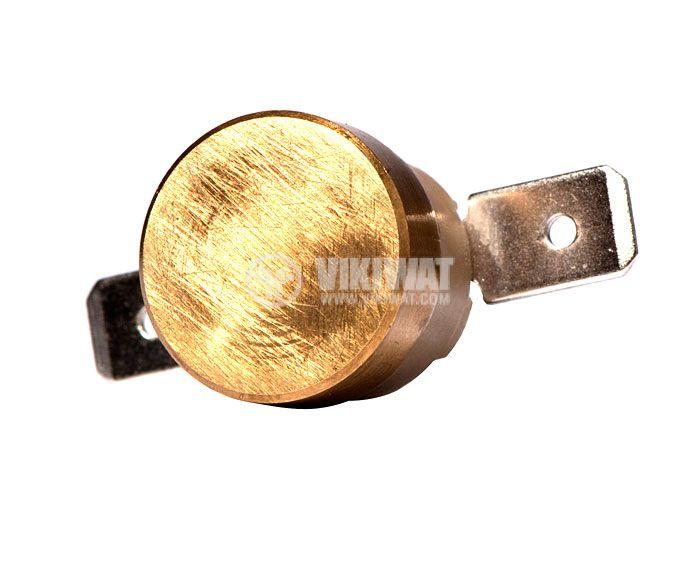 Термостат, биметален, KSD-333R, 60°C, NC, 10A/250VAC - 1