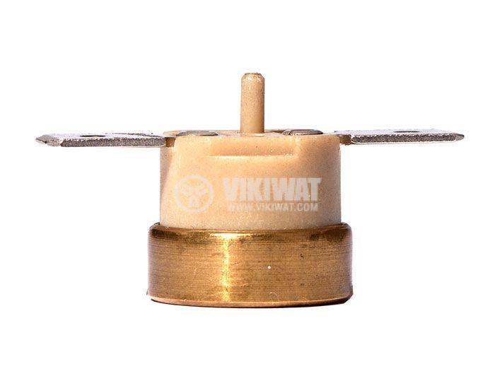 Термостат, биметален, KSD-333R, 60°C, NC, 10A/250VAC - 3