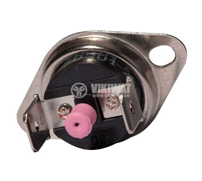 Термостат, биметален, KSD-333R, 60°C, NC, 16A/250VAC - 3