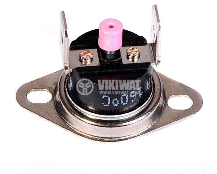 Термостат, биметален, KSD-333R, 160°C, NC, 16A/250VAC - 3