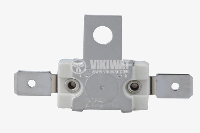 Bimetal Thermal protection CAMPINI TY80, 235 °C, NC, 10 А / 250 VAC