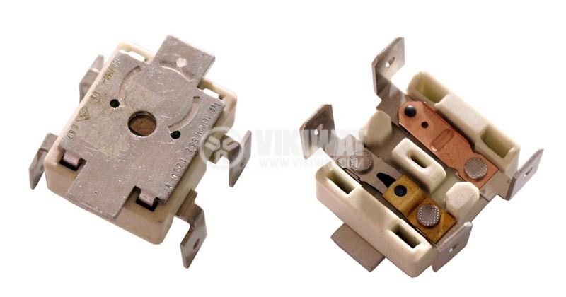 Thermal protection, double, KSD-302A, 87°C / 120 °C, 2NC, 10 А / 250 VAC