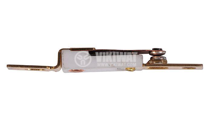 Термозащита, биметална, KSD-301F, 100°C, NC, 6 А / 250 VAC - 2