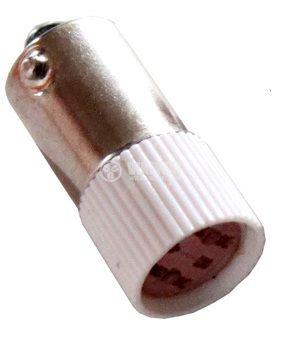 Миниатюрна лампа, 110 V, LED R, BA9s