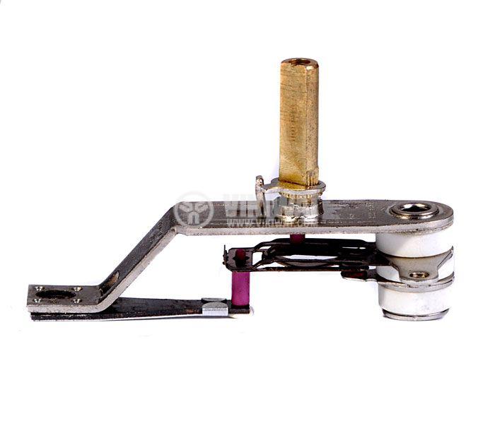 Термостат, биметален, регулируем, KDT-300A, 40°C-180°C, NC, 12A/250VAC - 1