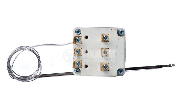 Capillary thermostat,  WY250-653-28TH, from +50 °C to +250 °C, 3NC, 16 A / 250 VAC - 4