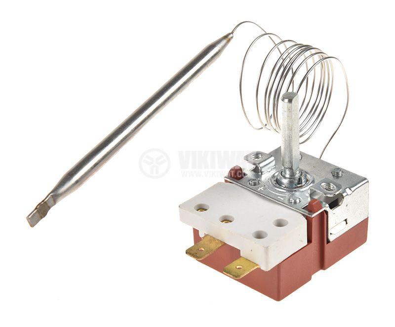 Терморегулатор, капилярен, WY90-653-21Z, от +30 °C до +90 °C, NC, 16 A / 250 VAC - 1