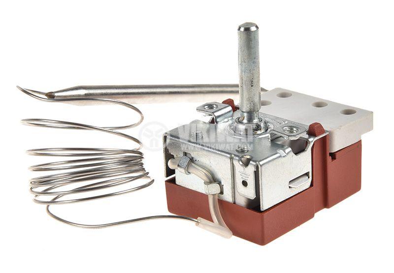 Терморегулатор, капилярен, WY90-653-21Z, от +30 °C до +90 °C, NC, 16 A / 250 VAC - 2