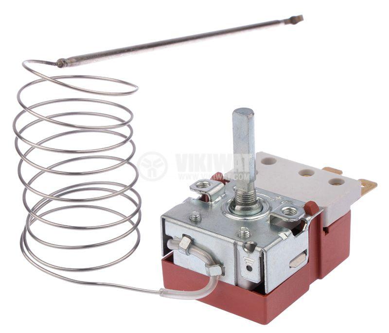 Терморегулатор, капилярен, RT8804, +50°C +320°C, NO+NC, 16A/250VAC - 2