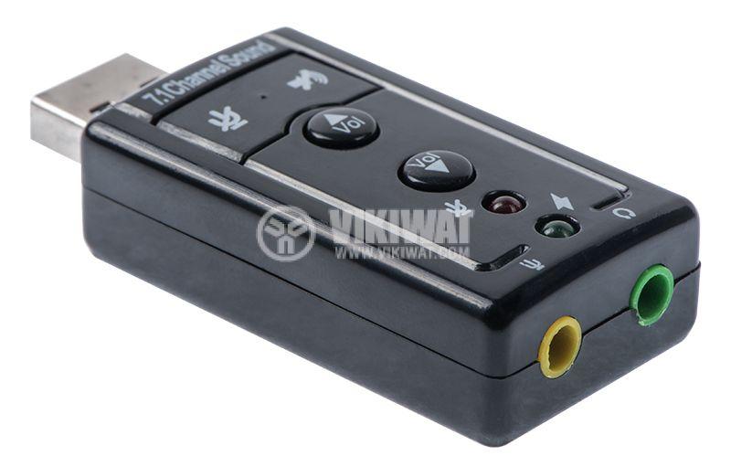 USB sound card 7.1 USB - 2
