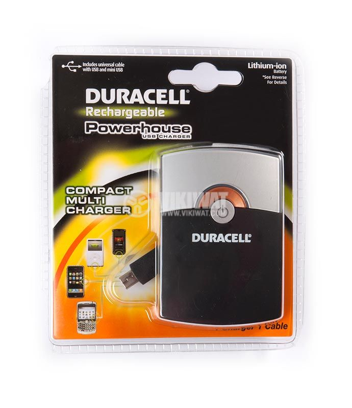 Power bank, DURACELL, 2000mAh - 1
