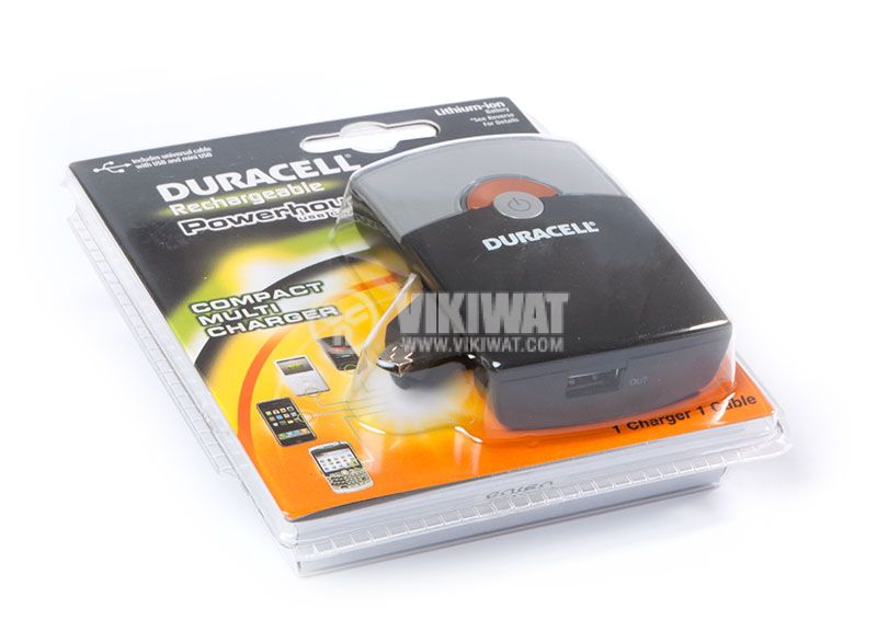 Power bank, DURACELL, 2000mAh - 2
