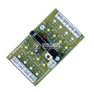 8 Канално управление за LED ефекти, 42 ефекта, 1 A - 1