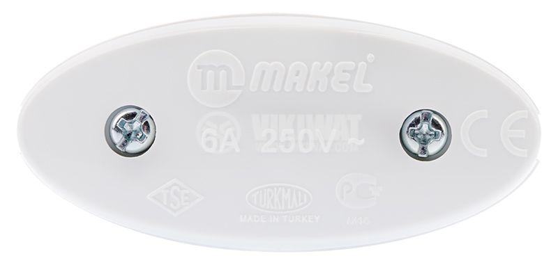 Превключвател мрежов, междинен ключ, 250VAC, 6A - 3