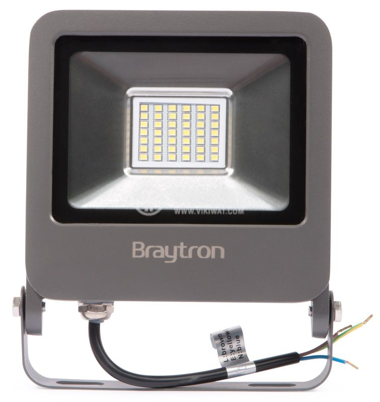 LED floodlight BT61-03032, 30W, 220V, IP65, 6500K - 1