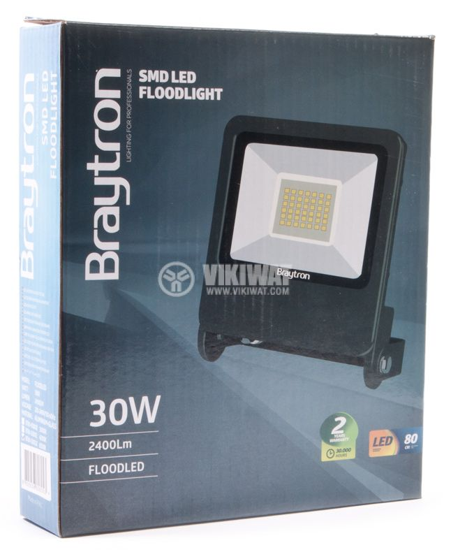 LED floodlight BT61-03032, 30W, 220V, 6500K - 6