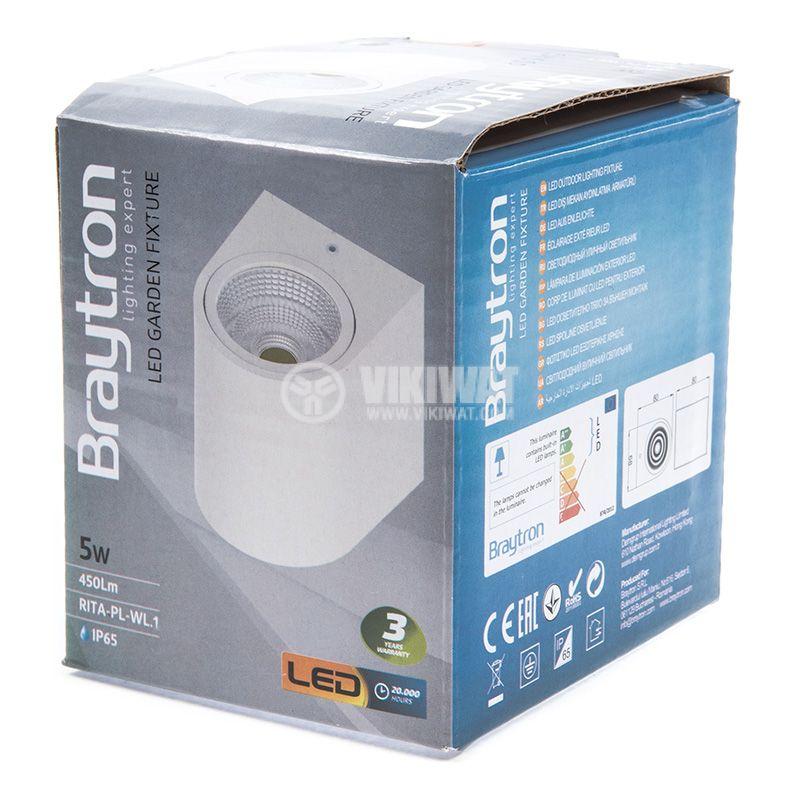 LED garden light RITA, 5W, 220VAC, 450lm, 3000K, IP65, BG40-00100 - 8