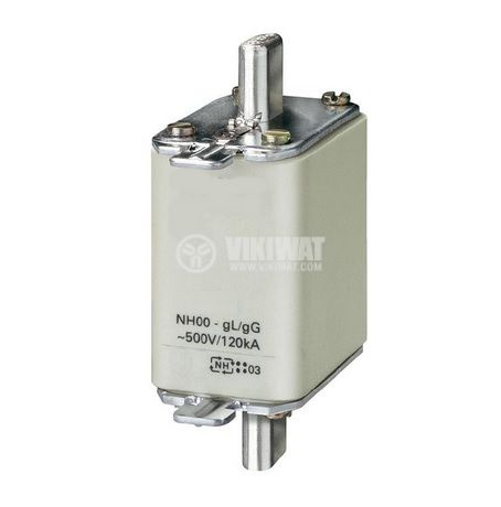 Fuse, NH00-7040, 40A, 500VAC, gG/gL, knifeblade - 1