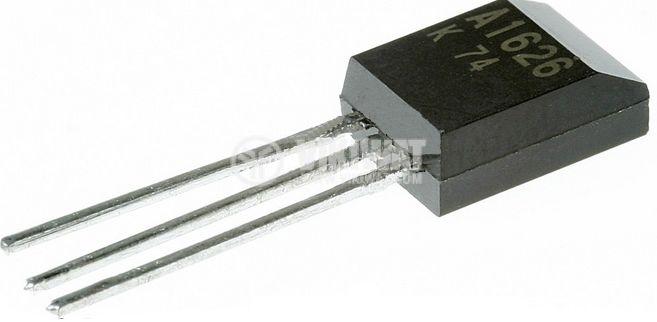 Транзистор 2SA1626, PNP, 400 V, 2 A, 1 W, 40 MHz, SOT-33