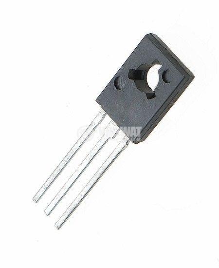 Транзистор 2SB649A, PNP, 160 V, 1.5 A, 1 W, 140 MHz, TO-126MOD