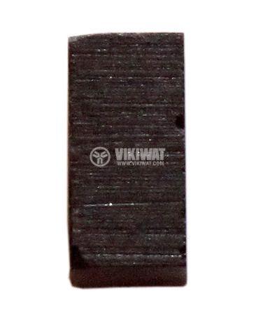 Четка въглено-графитна, 5x5x10 mm, графитно тяло (блокове) без изводи