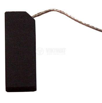 Четка въглено-графитна, 5x12.5x35 mm, със страничен извод
