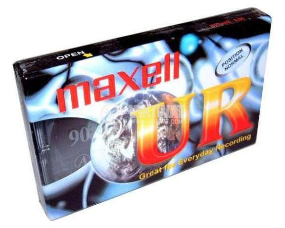 Аудио касета Maxell Normal UR 90